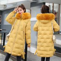 【极速发货 超低价格】棉服女中长款2020年新款冬季韩版宽松棉袄加厚面包服棉衣外套
