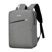 办公商务双肩包男士背包15.6寸学生电脑包手提多功能出差旅行背包