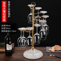 创意红酒架铁艺高脚杯架欧式葡萄酒杯架子倒挂吊杯架红酒杯架