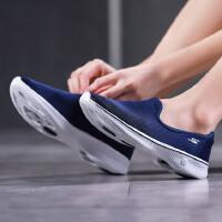 Skechers斯凯奇女健步鞋2018新款GO WALK 4网面透气运动鞋14906