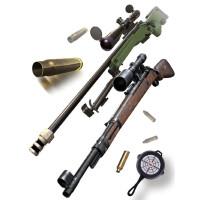 电动声光玩具枪3-6岁男孩宝宝道具冲锋枪仿真狙击枪儿童玩具手枪