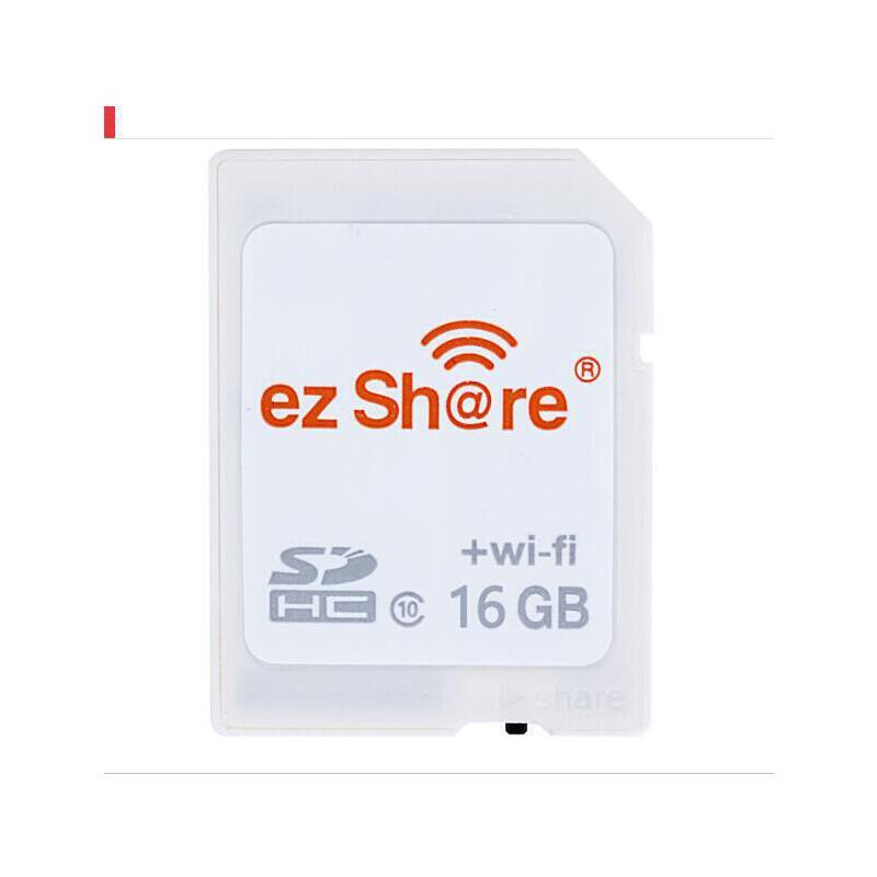 易享派WIFI无线16G 16GB  SD内存卡 新款第四代无线单反相机存储卡 支持音频 视频传输了
