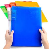 资料册彩色多层A4夹插页文件袋学生文具A5试卷夹活页文件夹乐谱夹