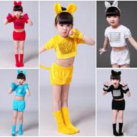 万圣节儿童动物服装演出小兔子表演服女童波斯猫舞蹈服装猫狗老鼠