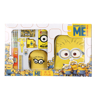 小黄人小学生文具套装礼盒学习用品幼儿园儿童开学生日礼物 黄色 黄色书包礼盒