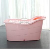 超大长浴桶洗澡桶儿童塑料保温家用浴盆沐浴桶加厚泡澡桶