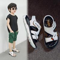儿童凉鞋男童中大童软底夏季沙滩鞋小孩男童鞋子