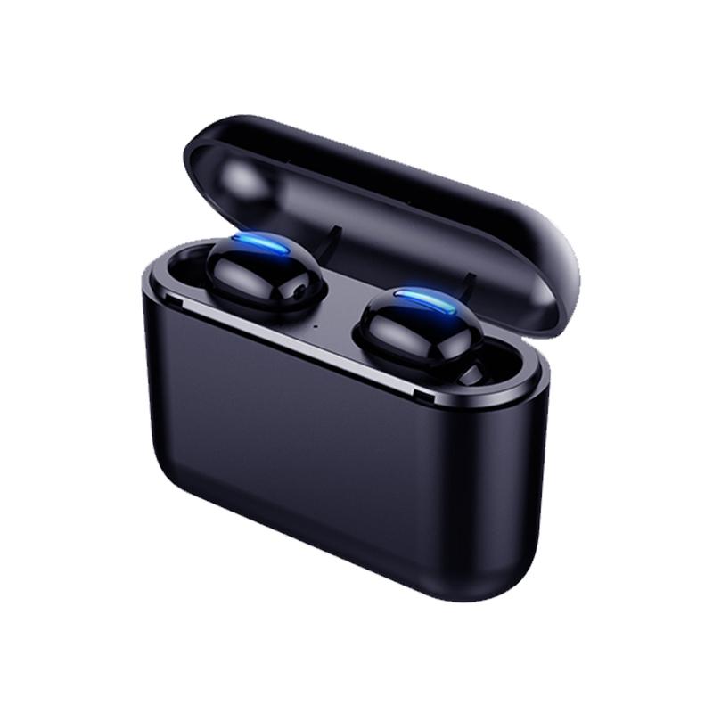 【包邮】Q32真无线双耳蓝牙耳机 隐形运动跑步小型MINI迷你微型一对男女通用蓝牙5.0苹果oppo华为vivo入耳头戴式挂耳塞长待机开车隐形蓝牙耳机 带3500毫安大充电舱 蓝牙5.0版本