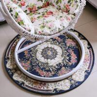 圆形地毯电脑椅垫子家用卧室客厅床边地毯吊椅吊篮脚垫茶几毯