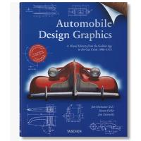 现货原版Automobile Design Graphics汽车复古海报平面草图设计