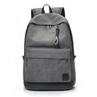 双肩帆布背包初高中大学生书包男女旅行李大容量时尚潮流韩版电脑