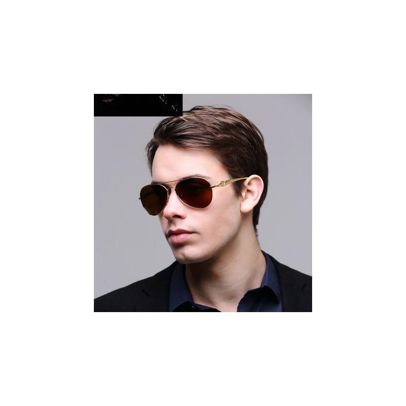 男士太阳镜潮人偏光镜 蛤蟆镜墨镜司机驾驶镜近视太阳眼镜 品质保证 售后无忧 支持货到付款
