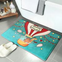 地垫卧室卡通门口脚垫厨房家用垫子卫生间卫浴吸水防滑垫浴室门垫