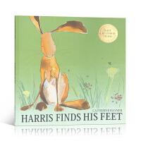 Harris Finds His Feet 哈里的大脚 2009年凯特格林纳威奖 美国Top 100百本必读英文原版绘
