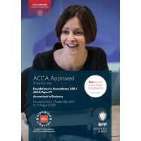 ACCA F1 Accountant in Business (Interactive Text) 会计师与企业(教材)ISBN 9781509711338