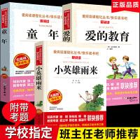 小英雄雨来 童年 爱的教育 快乐读书吧六年级上册民主与建设出版社天地出版社