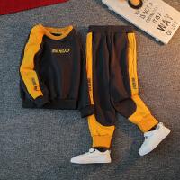 男童卫衣套装秋装洋气儿童春秋两件套