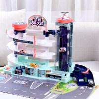 �和�玩具�小汽�套�b回力��T性各��工程�系列3-4�q男孩智力5