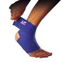 LP欧比护踝硅胶弹性绷带694 跑步篮球足球弹性护脚腕脚踝护具 单只