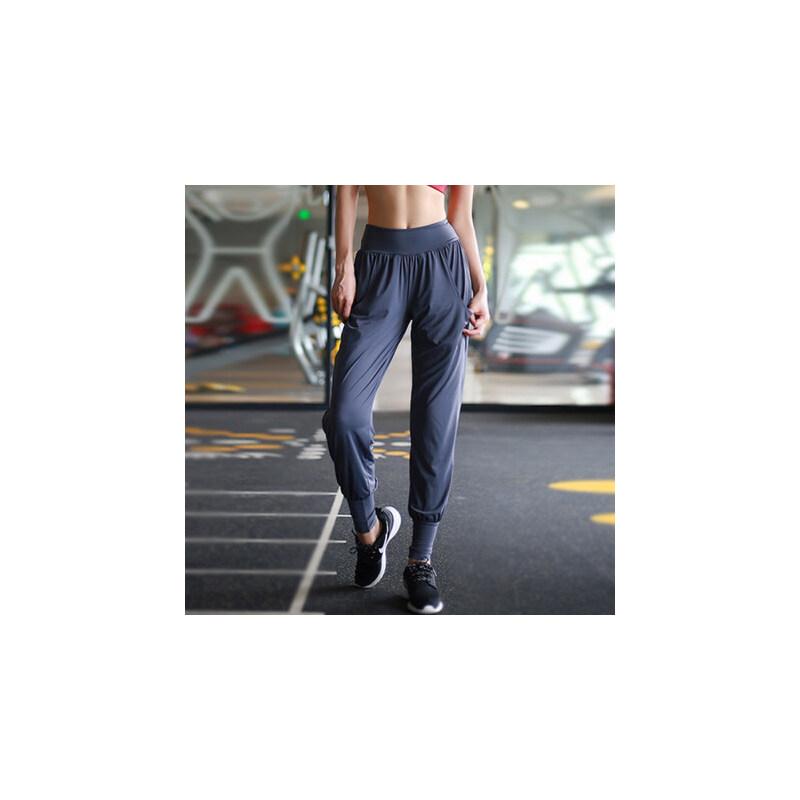 薄款速干运动裤女长裤宽松收口束脚哈伦跑步休闲瑜伽健身裤 品质保证 售后无忧