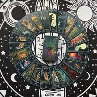 棱镜塔罗牌 塔罗占卜桌游卡牌镀银边 Prisma Visions Tarot