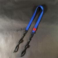 通用可调长度复古单反相机背带微单斜跨徕卡富士肩带 天蓝色 cam1450A通用款