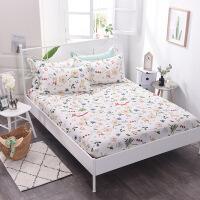 纯棉床笠单件全棉全包床垫套席梦思保护套1.5/1.8m床套防尘罩床罩 大部分人买2条 可换洗