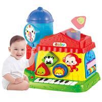 儿童趣味小屋玩具台游戏桌婴儿智慧学习屋宝宝