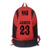 篮球运动休闲双肩包詹姆斯23号印花背包男女学生双肩书包