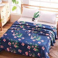 冬季珊瑚绒毯子加厚法兰绒毛绒床单单件女学生宿舍双人单人垫毛毯