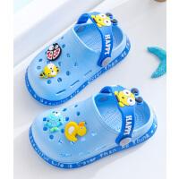 洞洞鞋�和�拖鞋夏男童女童����小孩防滑�底包�^中小童�鲂�沙�┬�