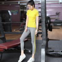 瑜伽服套装女速干健身房服 运动裤紧身跑步显瘦瑜珈服 支持礼品卡支付
