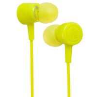 铁三角(Audio-technica)ATH-CKL220 时尚入耳式手机电脑耳机 绿色