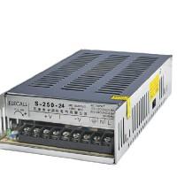 伊莱科 开关电源S-250-24 单组输出24V 10A监控安防 250W开关电源