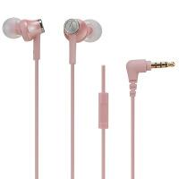 铁三角(Audio-technica) ATH-CK350IS CK350IS入耳式耳机通用 带麦线控