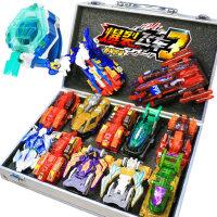 爆裂飞车3玩具套装正版4代新猎天魄男孩暴力暴烈爆烈变形2御星神1