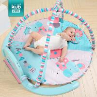 婴儿脚踏钢琴健身架0-1岁宝宝音乐游戏毯新生儿益智玩具