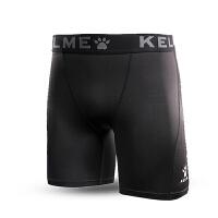KELME卡尔美 KMC160034 男式运动健身打底短裤 综训运动弹力紧身裤 透气舒适运动短裤