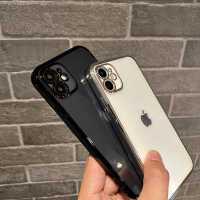 直边手机壳iPhone11proMAX适用苹果12硅胶7p/8plus透明xs软XR秒变