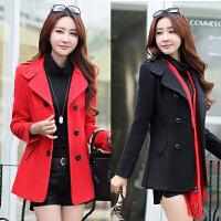 中年妇女装妈妈装秋冬天外套30-40-50岁韩版外衣服女士短款呢子35