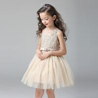 儿童连衣裙女孩礼服六一表演裙舞蹈裙女童公主裙宝宝裙子