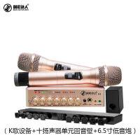 声卡家庭ktv音响套装无线话筒麦克风电视K歌卡拉ok唱歌用