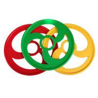 幼儿园户外运动滚铁环儿童推铁环铁圈怀旧玩具风火轮感统训练器材
