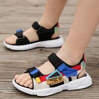 男童凉鞋2020新款夏季时尚拖鞋防滑男孩小童儿童软底沙滩鞋