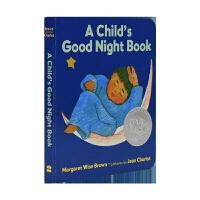 【首页抢券300-100】A Child's Good Night Book 纸板 晚安故事 凯迪克银奖 goodnig