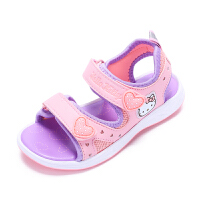 HelloKitty童鞋儿童凉鞋女童夏季新款露趾运动沙滩凉鞋