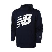 NewBalance/NB男装卫衣2018新款连帽印花休闲长袖套头衫AMT81009