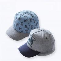 儿童春夏韩版男宝宝鸭舌帽可调节婴儿棒球帽