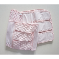 樱花粉 加强型纱布 产后产妇收腹带束腹带 剖顺产通用