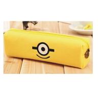 包邮 文具盒韩国可爱女生帆布铅笔盒男简约创意学生大容量小清新笔袋一个装